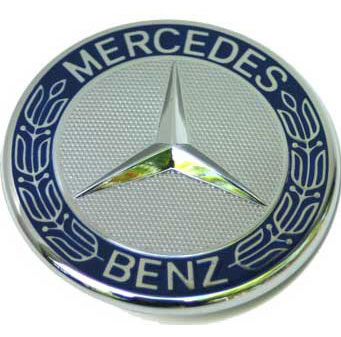 Mercedes - Mercedes Raised Emblem Badge