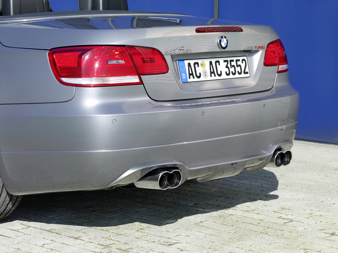 AC Schnitzer - BMW 3 Series E93 Convertible Rear Lip Spoiler by A