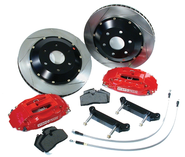 Stop Tech - 2007-2008 Audi A3 AWD 328x28 Front Big Brake Kits