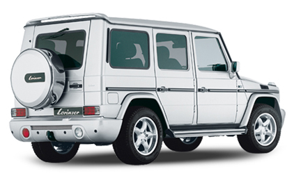 Lorinser - G-Wagon Roof Wing w/3rd Brake Light