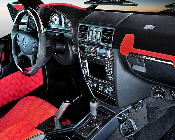 Hamann - Hamann Carbon Fiber Interior Trim Set