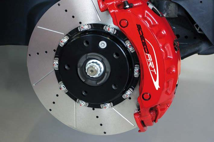 SpeedART Porsche - Porsche Panamera 970 Brake Rotor Upgrade for non