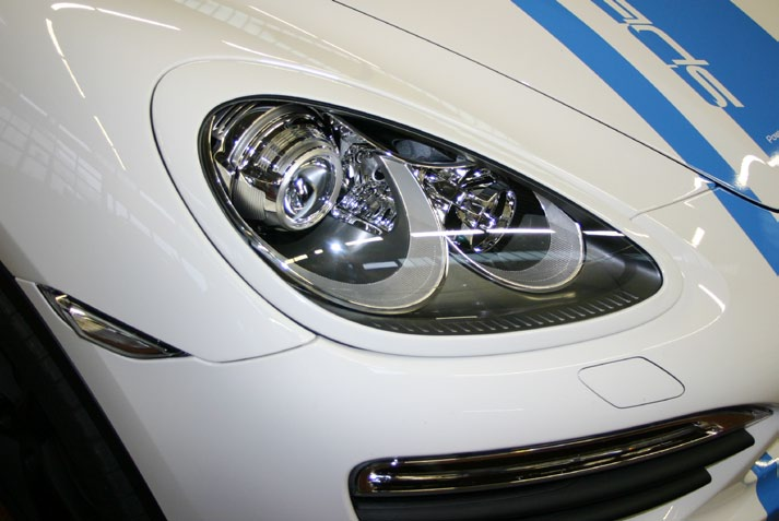 SpeedART Porsche - Porsche Cayenne 958 Headlight Eyelid Surrounds by