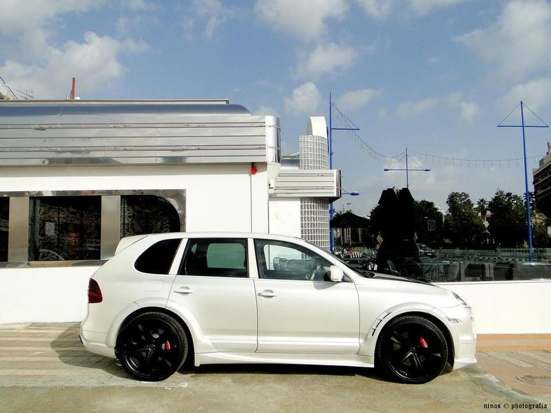 White Cayenne With Speedart Body Kit Btr Xl 6speedonline Porsche Forum And Luxury Car Resource