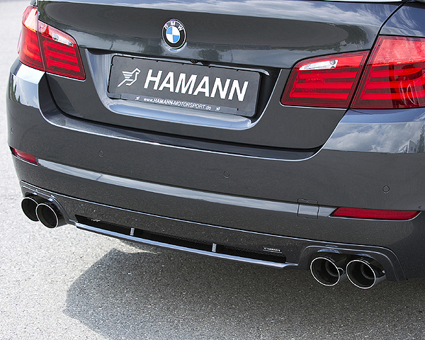 Hamann - BMW 5 Series F10 Rear Diffuser for cars with out M