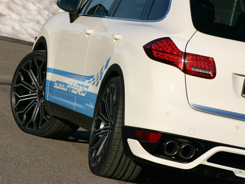 SpeedART Porsche - 958 Cayenne Titan Evo Rear Taillight Covers