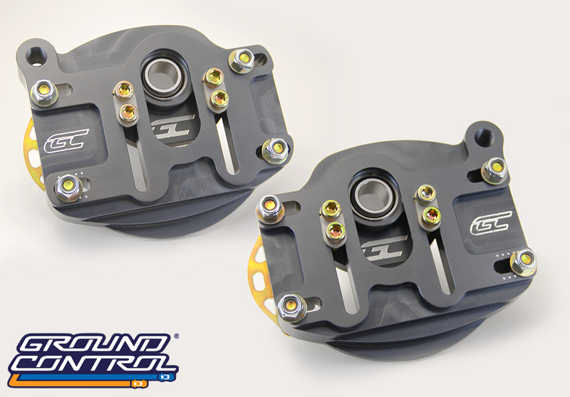 Ground Control - Porsche 964/993 Adjustable Camber Plates