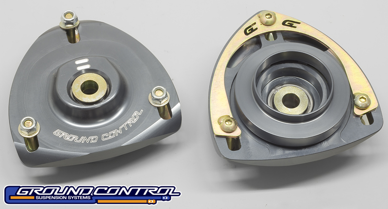 Ground Control - VW MK5/MK6 Golf/GTI/Jetta Front Camber Plates