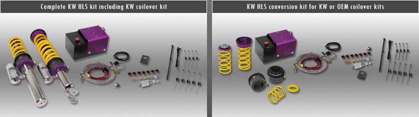 KW - KW HLS 2 (Hydraulic Lift System) (Front Axle Lift