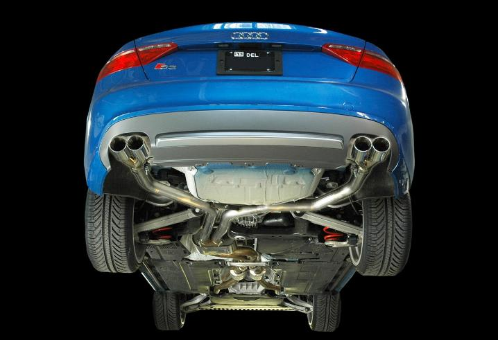 AWE Tuning S5 Coupe 4.2L Non-Resonated Downpipes