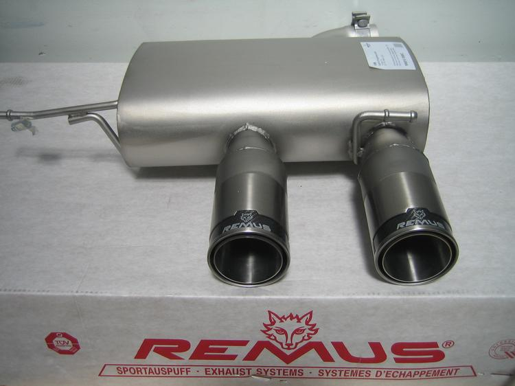 Remus - 2012 VW Golf R Remus Exhaust