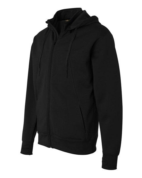 GMP - GMP Performance Black Zippered Sport Hoodie