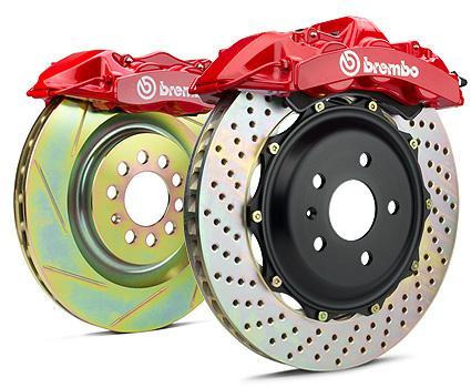 Audi S4/S5 Front (B8) 6-piston 380x32 2-Piece Big Brake Gran Turismo Kit by Brembo