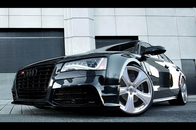 Hofele - Audi A8 D4 RS 5 Mesh Inserts for Front Bumper by H