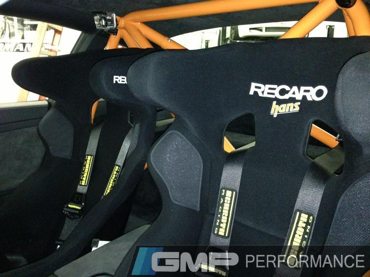 GMP - Custom Race Seat Install