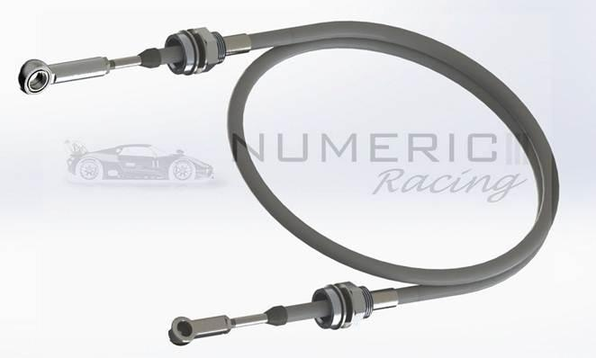 Numeric Racing - Numeric Racing Performance Shifter Cables for Pors