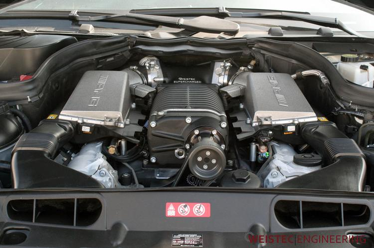 Weistec Engineering - Weistec Stage 3 Supercharger System for Mercedes 6