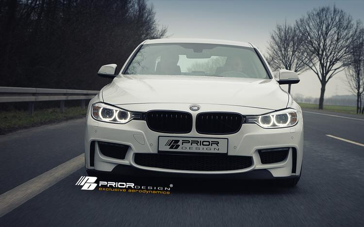 Prior Design - BMW 3-Series F30 Prior Design PDM-1 Front Bumper