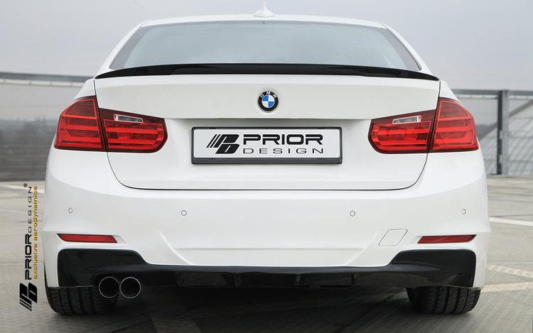 Prior Design - BMW 3-Series F30 Prior Design PDM-1 Rear Bumper