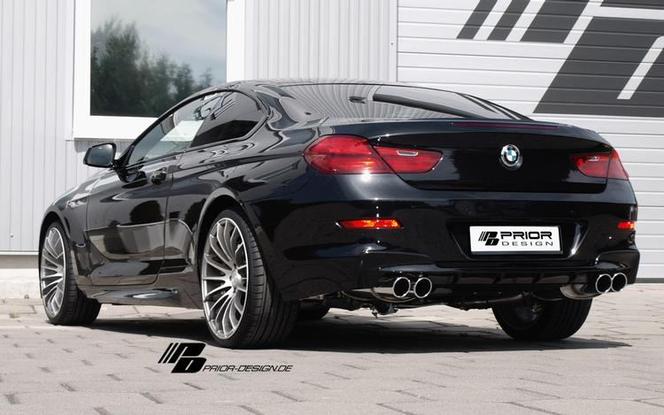 Prior Design - BMW 6-Series (F12/F13) Prior Design PD6 Rear Bumpe