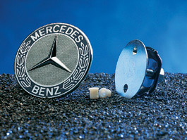 Mercedes - Mercedes Hood Star Replacement Emblem