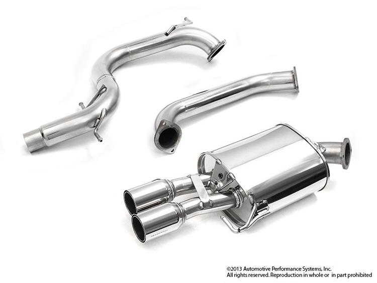 Neuspeed - 2012+ VW Jetta GLI NEUSPEED 70MM Stainless Steel C