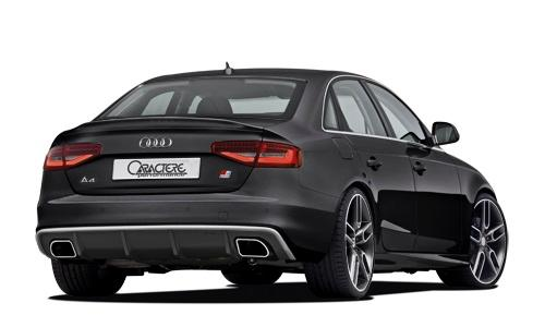 Caractere - 13+ Audi A4 Caractere Rear Spoiler For S-Line Mode