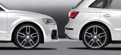 Caractere - Audi Q5 (2013+) Caractere Wheel Arch Extensions