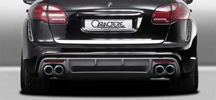 Porsche 958 Cayenne Caractere