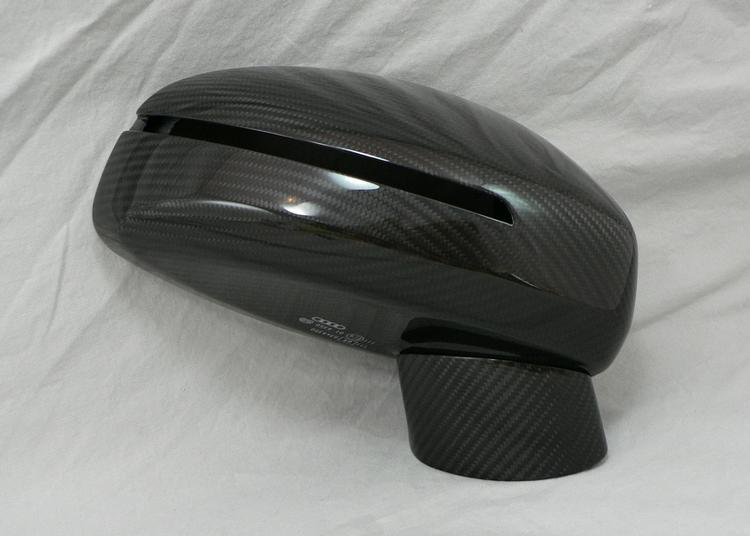 MA Carbon - Audi R8 MAcarbon Side Mirror Post
