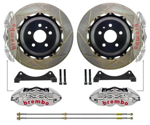 Brembo - Mercedes A45 AMG (W176) Brembo 6-Piston 365x34mm 2