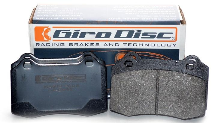 Girodisc - Audi R8 Girodisc Front Magic Pads
