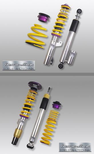 2008-2013 BMW E90/E92 M3 Sedan/Coupe KW Clubsport Coilovers w/Top Mounts (For Models not equipped with EDC)