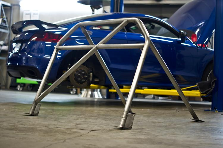 Audi TT-RS Rollbar with integrated harness bar by GMP Performance