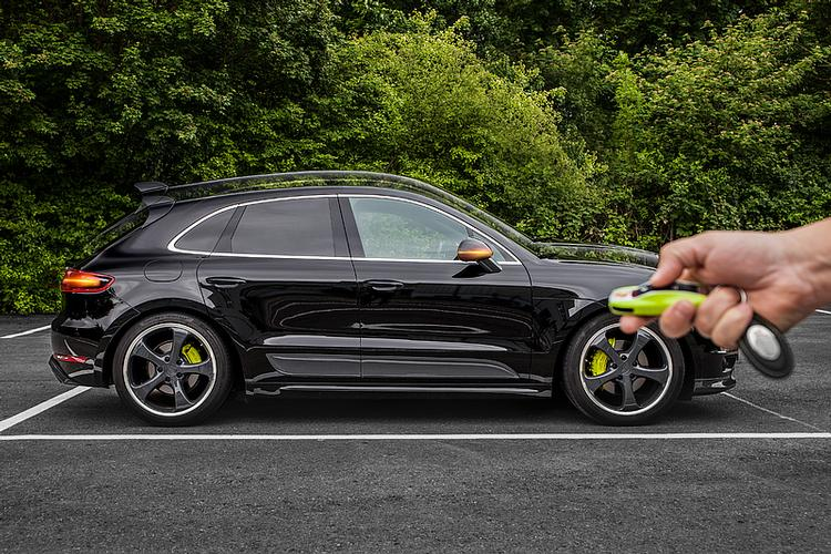 Tech Art - Macan Turbo/S Lowering Module by TechArt