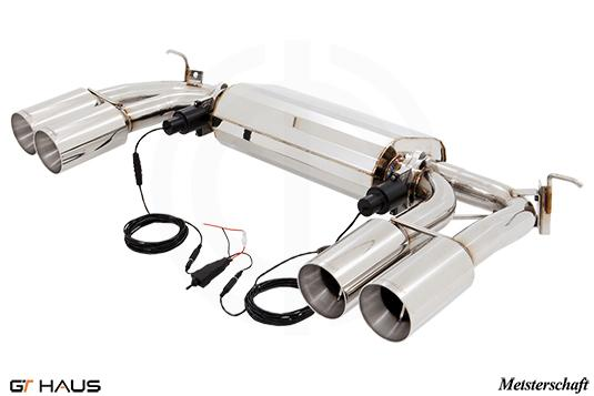 BMW F15/85 X5/M and F16/86 X6/M Meisterschaft Exhausts from