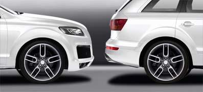 Caractere - Audi Q7 '10 Caractere Wheel Arch Extensions