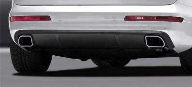 Caractere - Audi Q7 '10 Caractere Rear spoiler with Dual Tail