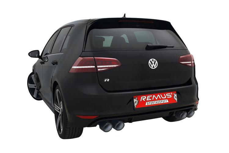 VW MK7 Golf R REMUS Cat-Back Exhaust System