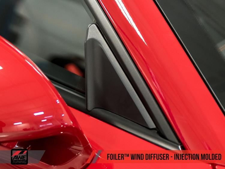 Porsche 981/991/718 AWE Tuning Injection Molded Foiler™ Wind Diffuser