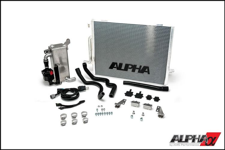 Alpha Performance - Audi S4 B8 Alpha Performance Supercharger Cooler S