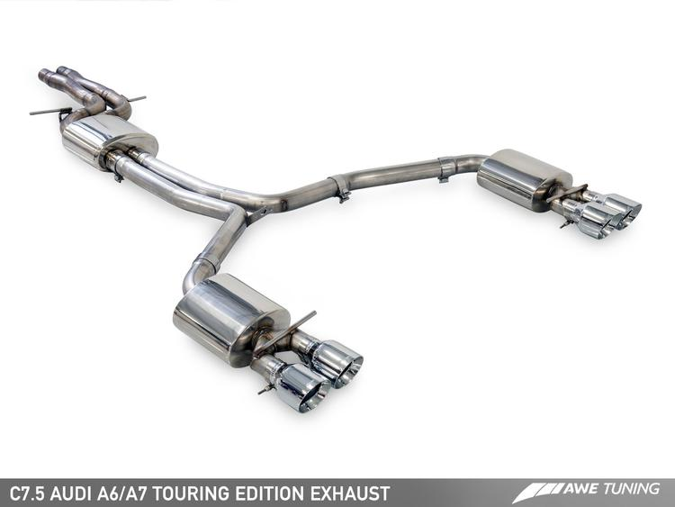 Audi C7.5 A7 3.0T AWE Tuning Touring Edition Exhaust System