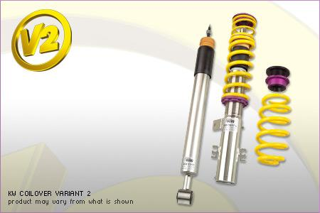 2015+ Porsche Macan KW V2 Coilover Kit (For Models without air suspension, without PASM)