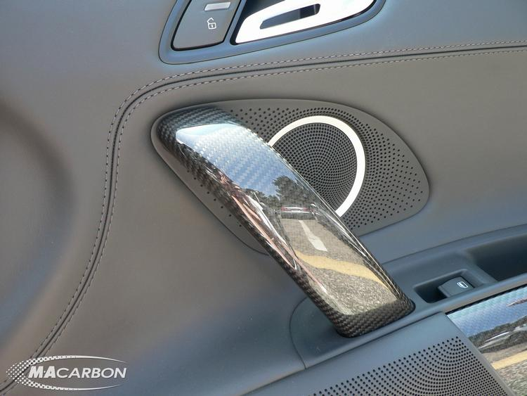 MA Carbon - Audi R8 MA Carbon Passenger Side Door Grab Handle