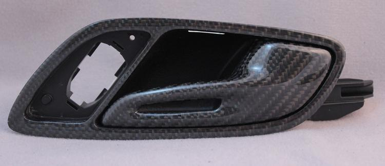 MA Carbon - Audi R8 MA Carbon Door Handle Latch and Surround S
