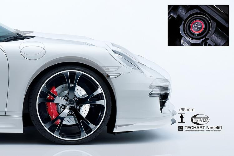 Tech Art - Porsche 991 Turbo/Turbo S TECHART Noselift Front A