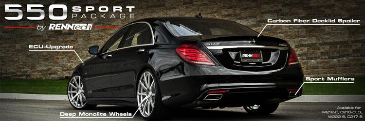 GMP Performance - Mercedes W222 S550 RENNtech Sport Package