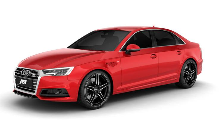 ABT - 2017-2018 Audi A4/S4 ABT Front Skirt Add On
