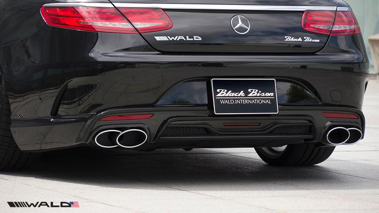 WALD - Mercedes C217 S Class Coupe WALD Black Bison Rear