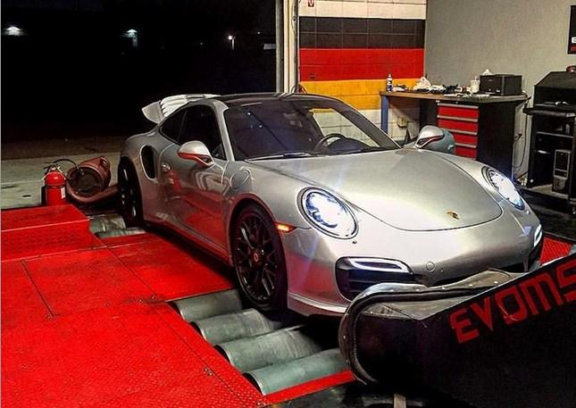 2014-2016 Porsche Turbo/Turbo S 3.8L DFI EVOMSit Engine Software Performance Upgrade